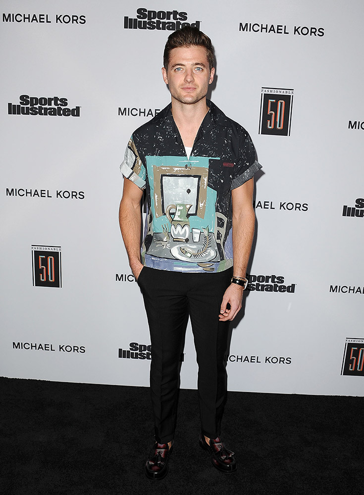 Robbie Rogers PRADA FW17 Sports Illustrated Fashionable 50 Event 18.07.2…