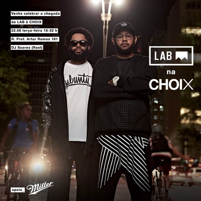 Lançamento Lab @ Choix