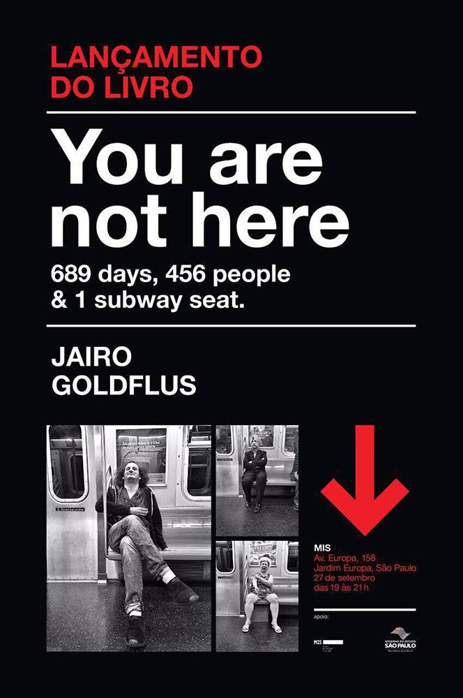 You Are Not Here, De Jairo Goldflus