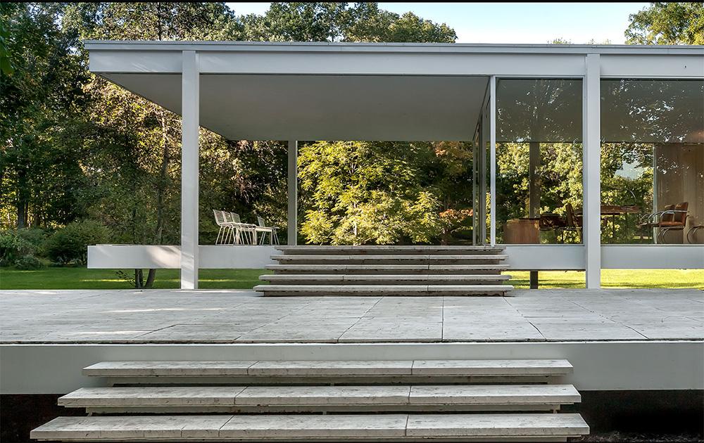 Farnsworth House (projeto 1945-47), Mies Van Der Rohe