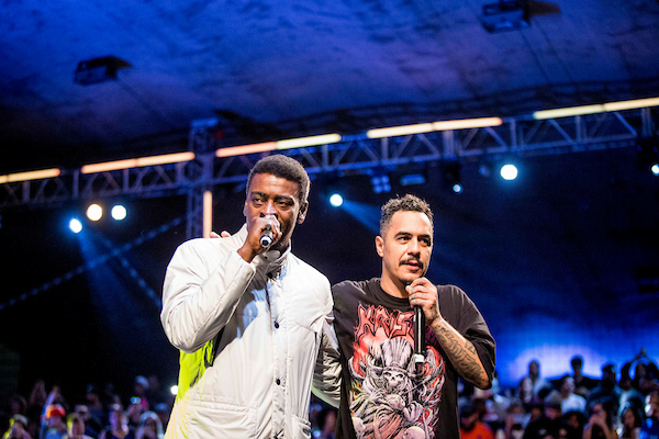 Battle Force Marcelo D2 E Seu Jorge IV