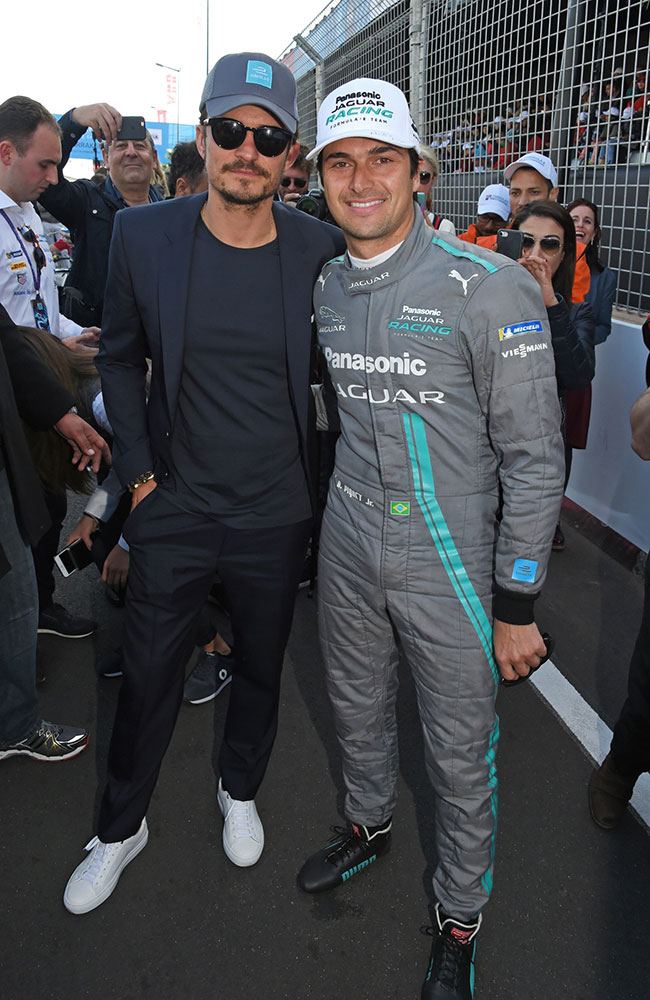 329959 762543 Orlando Bloom Formula E Marrakesh