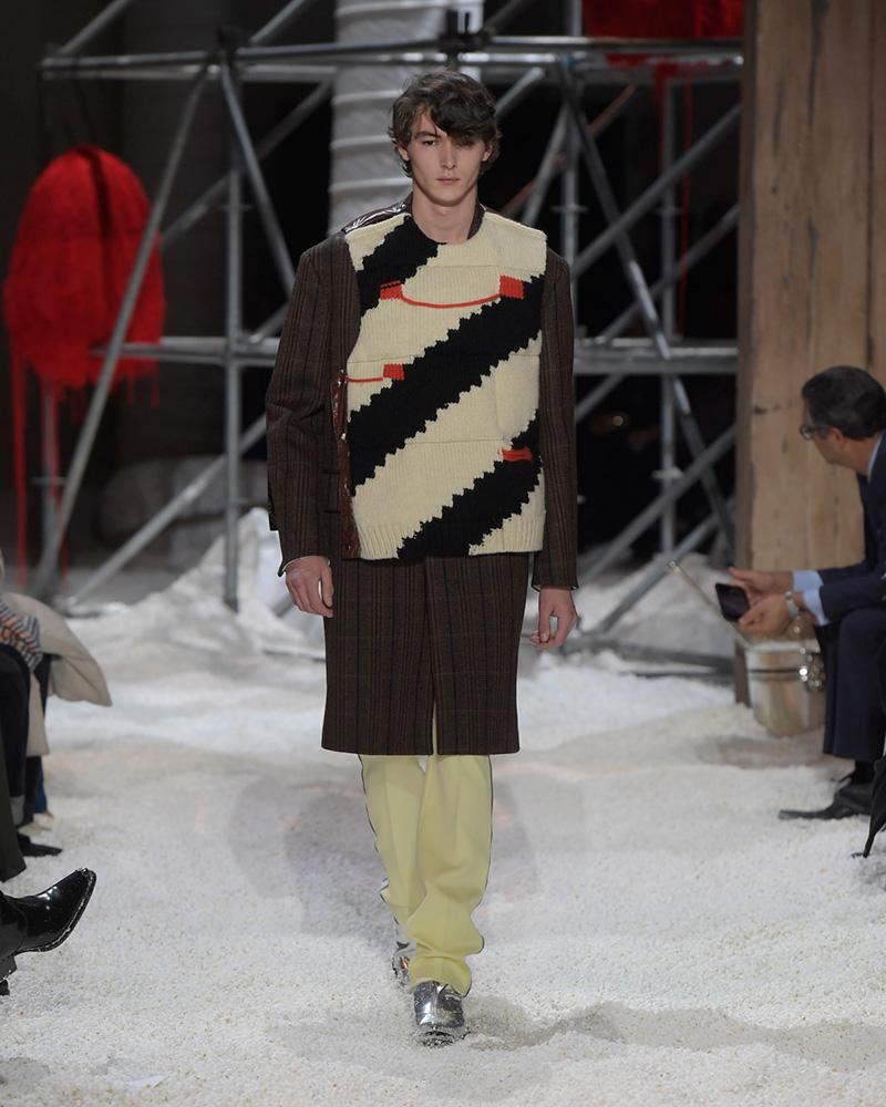 Calvin Klein, inverno 2018